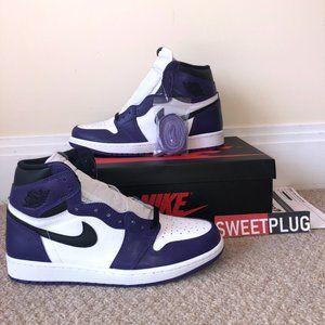 Nike Air Jordan 1 Hi 'Court Purple'